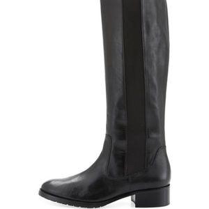 Donald pilner vguc black leather riding boots 6